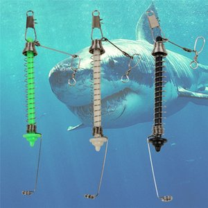Cheap Fishhooks Universal Automatic Fishing Double Hook Ejection Lazy Full Speed All The Water Fish Fast Catch Tool