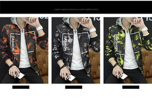 19 Men Jacket New Fashion Double-sided Luxury Hoodie Europe United States Tide Brand Motorcycle Coat Casual Comfortable Jackets M-4XL