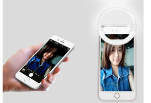 Faretto a Led Lampada Lampada Fotografia Fotografia Spotlight per iPhone X 8 7 Samsung Xiaomi Huawei Phone