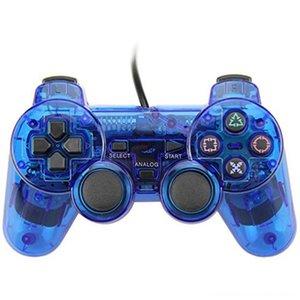 Controllerpads cablata per controller Sony PS2 Playstation2 Doppio Joystick accessori del gioco Shock Video Game Console Joystick Gamepad lungo