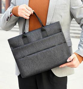 Fashion Briefcases Men Business Briefcase Man Casual Shoulder Messenger Bag Men's Handbag Cross Section Laptop Bag