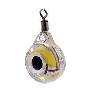 Yeni Balıkçılık Malzemeleri Mini LED Sualtı Gece Balıkçılık Işık Cazibesi Balık Çekmek için LED Sualtı Gece Lambası