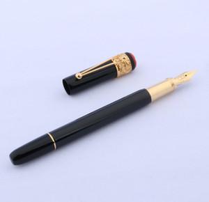 Fontes de escrita do negócio de presente do metal de luxo presente dourado clássico aranha Fountain Pen