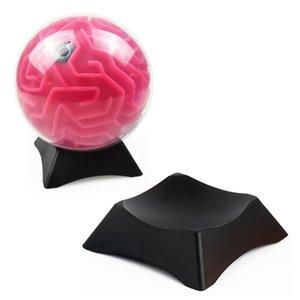 HOT NEW 3D Maze Magic Ball enigma Balance Base de enigma GamHOT NOVO 3D Maze Magic Ball enigma Bae Toy Titular Maze Toy Presente Formação para Kid # K4