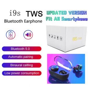 2020 высокое качество i9s TWS наушники 5.0 true wireless bluetooth наушники i9s-tws с зарядным устройством коробка