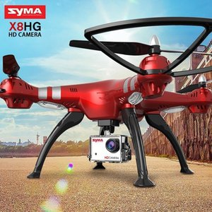 Leadingstar Syma Drone Profissial X8hg (Upgrade x8g) 2.4G 4 canales de 6 ejes giroscopio Rc helicóptero Quadcopter Drone Con HD T190621 cámara