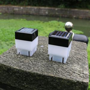 Outdoor Solar PAC post luce alimentata solare recinto protezione della luce a LED per esterno giardino di lampada dello stagno CRESTECH