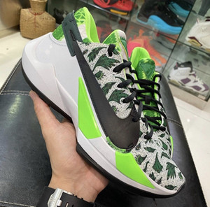 2020 Zoom Freak 2 à venir Vert Blanc 34 Chaussures de basket-ball Hommes New Yánnis Antetokoúnmpo 2 Hommes Noir Chaussures de sport avec la boîte