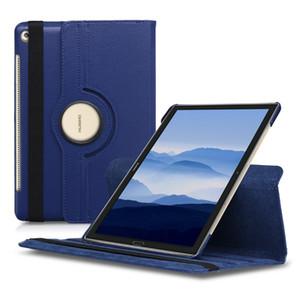 360 градусов вращающийся кожаный чехол для Huawei MediaPad M5 Lite 10 T5 T3 7 8 10 дюймов PU кожаный защитный планшетный ПК с подставкой