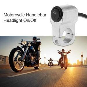 Metal Alüminyum 2-Tel 7 / Motosiklet Gidon Far On 8in / Switch LED Işık Su geçirmez Motosiklet Aksesuar Kapalı