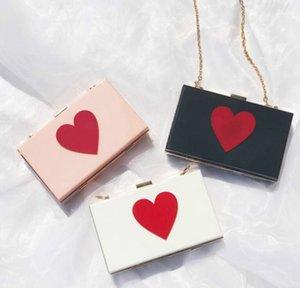 Designer Mulheres Flap Hangbag Luxo Lady Bolsa de Ombro Cadeia Moda corações brilhantes Sacos simples sacos de alta qualidade / 7