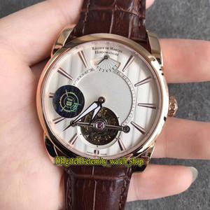 JB Super version Tonda 42 Yourbillon PFH251-1000100-HA1241 Real Tourbillon PF510 механический ручной завод запас хода мужские часы розовое золото