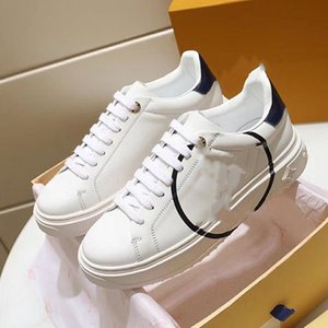 2020f autumn new leather men and women low-cut lace casual shoes, high-quality fashion wild couple sports shoes, size: 35-45 xc29