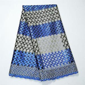 Sıcak satış nigerian dantel kumaşlar 2019 yüksek kaliteli fransız net tül dantel kumaş kadınların elbiseler için 5 kilometre