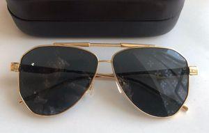 Z1198E Sunglasses For Men Fashion Oval Simple designer UV 400 Lens Coating Grey Brown Lens Color Half Frame Top Quality With Case