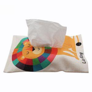 Yeni süblimasyon pamuk Keten kağıt havlu çanta süblimasyon doku kutusu sıcak transfer baskı boş sarf