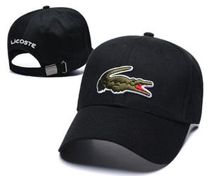 Timsah Tarzı Klasik Spor Beyzbol Kapaklar Yüksek Kalite erkek tasarımcı Golf Kapaklar Güneş Şapka Kadın lüks Snapback Kap En Iyi Baba Kap casquette