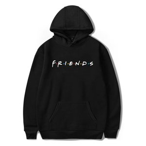 Luckyfridayf 2018 Unisexe Amis Membre Pop Mode Warm-ing Soft Femmes Hoodies Sweat Hip Hop Vêtements MX190815