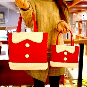 Christmas Gift Bag Large Bow Handbag Bag Send Girlfriend Gift Creative Children Candy Decoration Tote Bags for Women