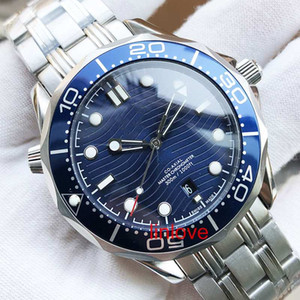 고급 남성 시계 남성용 전문 바다 다이버 시계 자동 이동 42mm 세라믹 베젤 마스터 디자이너 시계