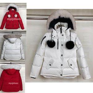 Top Mode Heißer Verkauf mit Großhandelspreis Kanada Frauen Dawson Daunenjacke Hoodies Pelz Modernes Winter Parka
