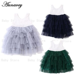 NEW 2020 Summer Baby Girl Flower Lace Dress Princess Ball Gown Wedding Birthday Party Sleeveless Dresseswr84#