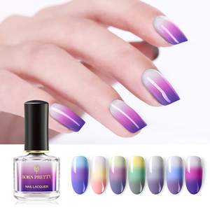 New 6pcs lot Thermal Nail Polish 6ml 3 Colors Temperature Color Changing Manicure Varnish Nail Art Design DIY