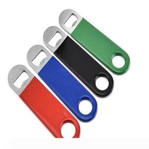 Beer Bottle Opener Stainless Steel PVC Openers Beer Coke Soda Tools Kitchen Tools 4 colors WY77Q