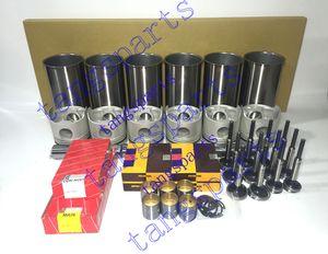 DB58 Engine Rebuild kit with valves For DOOSAN Daewoo excavator tractor forklift dozer loader etc. engine repair parts