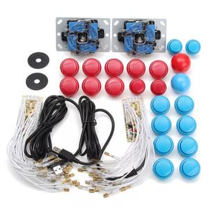 Arcade DIY Kits Peças Encoder USB Para PC Joystick Com 20pcs Botões