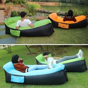 Air Lounger gonflable canapé-lit Proof Portable d'eau Couch Lazy Bean Bag Chair Park Garden Backyard Beach Pool Party Camping pique-nique