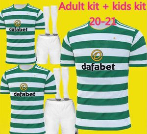 20 21 MCGREGOR GRIFFITHS Mens Fußball-Trikots Celtic SINCLAIR FORREST BROWN ROGIC CHRISTIE Startseite Adult kit + Kinder-Kit-Fußball-Hemden