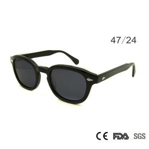 Retro Vintage Sonnenbrille Mode Männliche Runde Formen Johnny Depp Niet Sonnenbrille Für Männer Marke Designer Brille Uv400 Brille C19022501