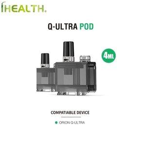 100% Authentic ПОТЕРЯННАЯ VAPE Q-Ultra Pod 4мл Емкость Empty подходит картридж для Q-ULTRA POD KIT с ультра Boost, Coil