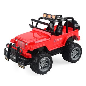 Hot children electric four-way remote control toy model racing off-road electric remote control car 1:18 rechargeable gift
