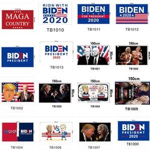 Trump Флаг 90 * 150см Байден Флаг США Keep America Великий Президент Donald Trump Выборы Баннер Флаги 8003