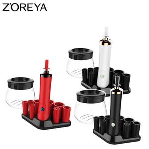 Maquillaje ZOREYA eléctrico cepillo limpiador Secadora Set 10 segundos eficiente Maquillaje Lavado herramienta Pincel