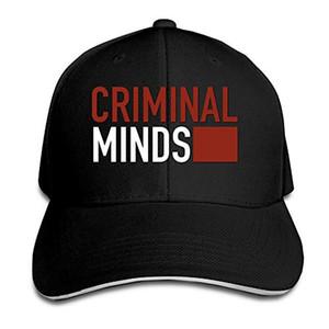 Drame disar-t série Esprits criminels unisexe Baseball réglable Caps Sandwich Peaked Chapeau sports de plein air Snapback été Hat 8 couleurs