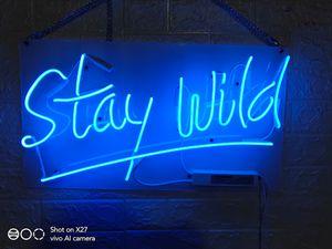 Estrela beleza sinal de néon estadia neon selvagem acende polegadas 14 polegadas verdadeiro sinal de vidro da luz de néon para Beer Bar Pub Garagem Quarto