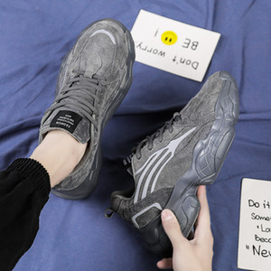 Running Shoes papá viejo nuevo estilo malla des chaussures Zapatos Zapatos para hombre formadores mujeres Moda transpirable Atlético zapatillas de deporte casuales de zapatos