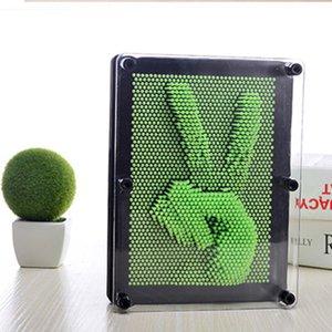 3D Clone Şekli Pim Sanat Shoumo Renkli İğne Çocuk Get Yüz Palmiye Modeli 3D Clone Pim Sanat Plastik Oyuncak Komik Oyun Pinart