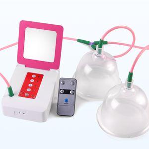Breast Taibo beleza massageador elétrico Enhancement Peito Vacuum único copo duplo Alargamento Cupping massagem máquina de bunda de mama