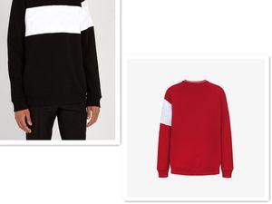 Hoodies de la manera de los hombres del suéter de la sudadera con capucha de manga larga con capucha Caasual Marca Carta bordado Otoño Invierno Ropa para Hombres