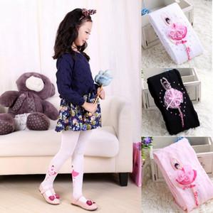 드레스 양말 발레 유아 여자 팬티 스타킹 자수 공주 자료 스타킹 패션 코튼 레깅스 아동 의류 3 색 DW4231