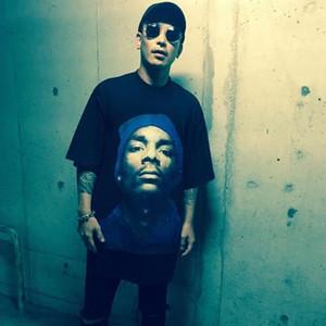 O-Neck New Summer Moda Oversize Hip Hop T Camiseta Mulheres Casual Dicas Snoop Dogg Imprimir Longo Loxo Tshirt Tee Tee Tench