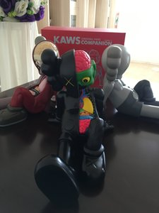 HOT décorations de 0.9KG OriginalFake KAWS Dissected Companion poupée de position assise Figure avec la boîte originale KAWS Action Figure modèle g