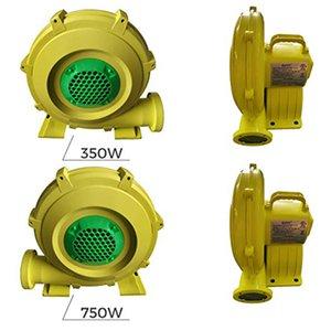 Air Blower Fan 350-480 Watt 0.64 HP Pump Fan Inflatable Blower Fan for Inflatable Bounce Houses,Jumper,Water Slides