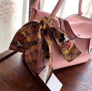 Designer Silk Scarf Fashion Headband Luxury Brands Women Silk Scraves Top Grade Silk Scarf Hair Bands 120*8cm