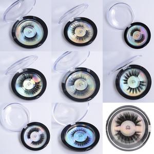 2020 최신 밍크 속눈썹 3D 실크 단백질 밍크 가짜 속눈썹 소프트 자연 두꺼운 가짜 속눈썹 눈 속눈썹 연장 메이크업 (28 개) 스타일 속눈썹