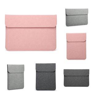 Macbook Notebook Para Sleeve Bag 13,3 polegadas Huawei Matebook D Xiaomi Superfície Pro 6 Laptop Bag 12 Pro 13 15 Inch Mulheres Homens 14 15.4 # 797